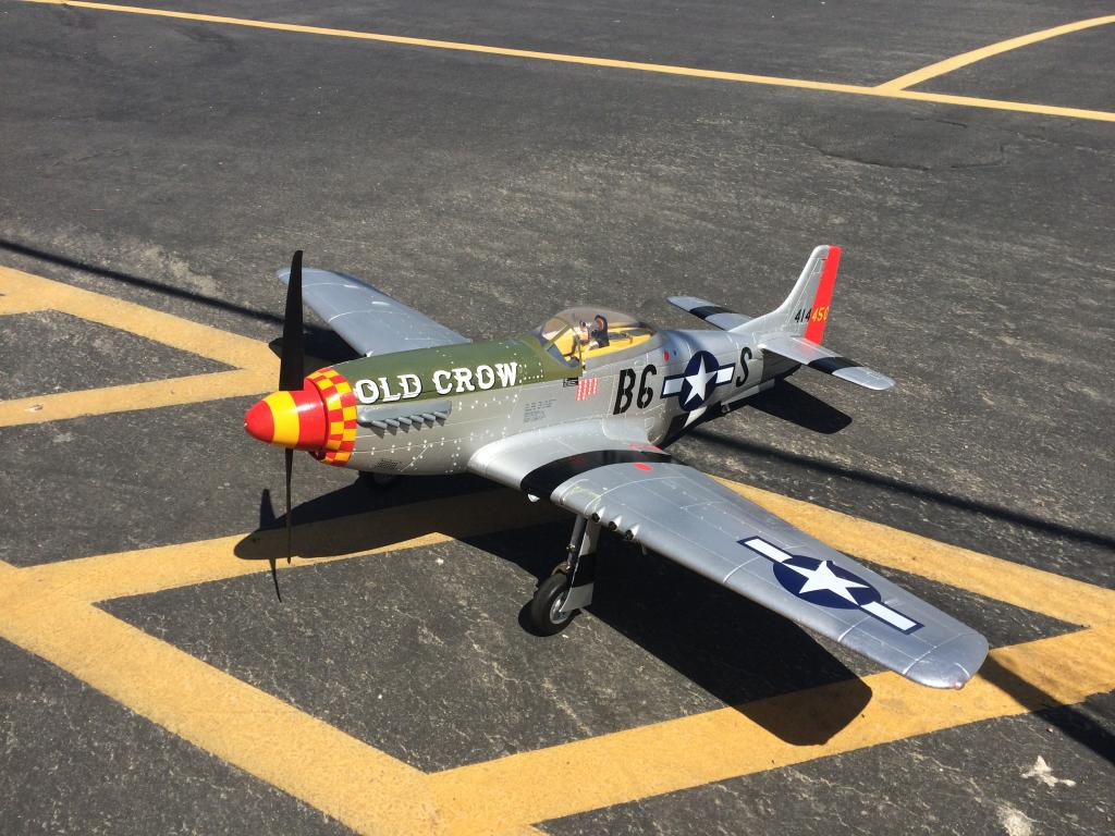 363-Dave Storey showed off his P-51 with a newly installed sound system.